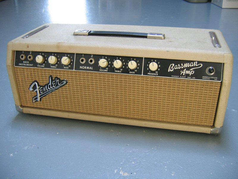 fender 1963 to 1964 bassman amp head blonde vinyl amplifier cover p n fend005 ebay. Black Bedroom Furniture Sets. Home Design Ideas