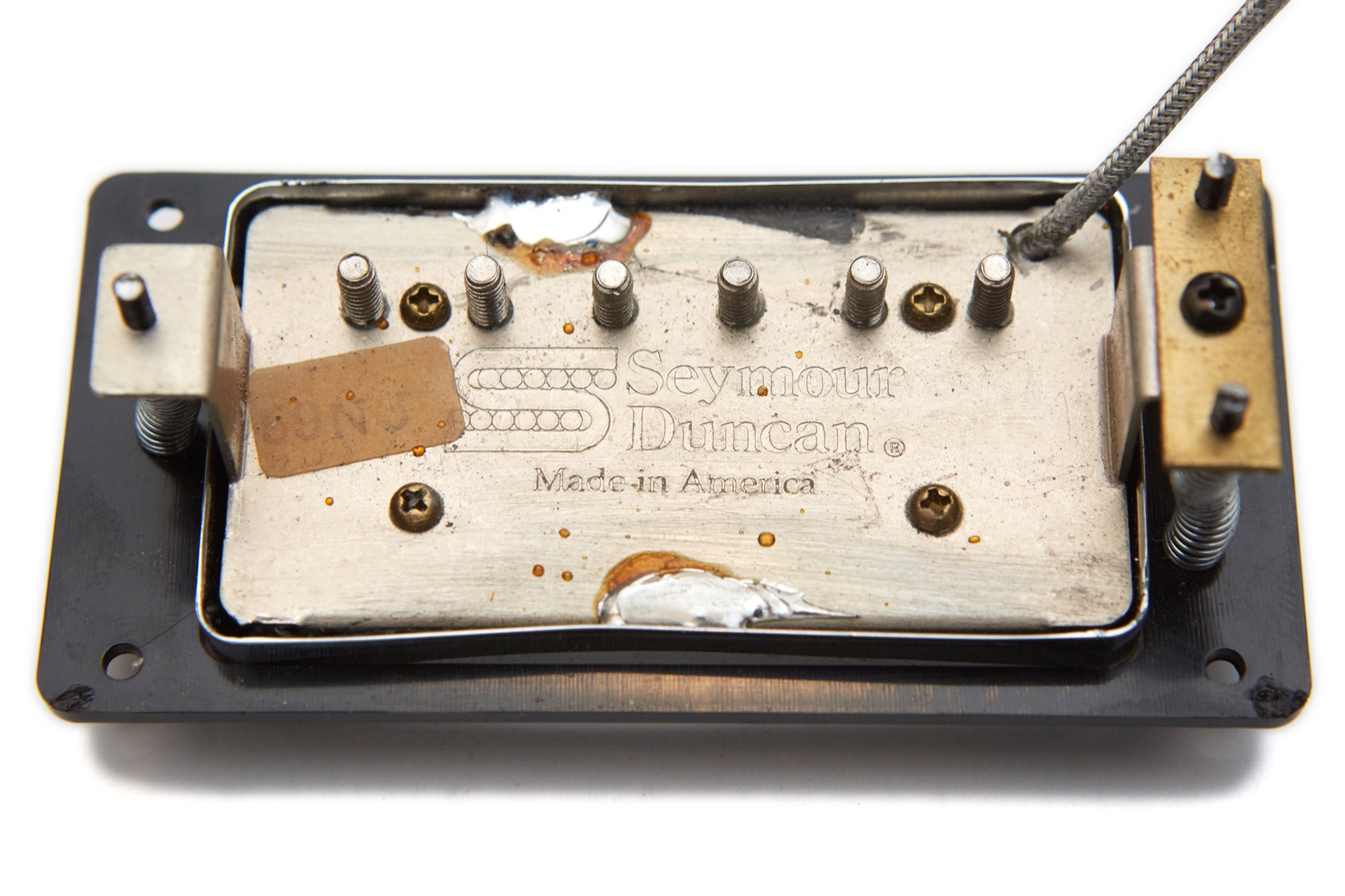 Guild Full Sized Hb1 And Sd1 Pickup Variations Gads Ramblings Fender Wide Range Humbucker Wiring Diagram The Other Is A Sd 59 Neck Wound By Same Person I Believe Since As Best Can Tell That Also J At End Of