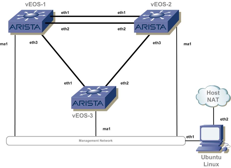 Building a Virtual Lab with Arista vEOS and VirtualBox