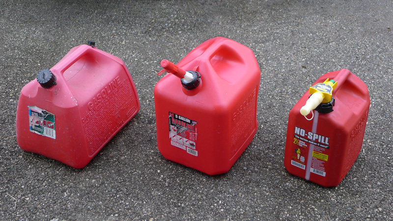 One Man's Quest for Gas Cans that Don't Suck | GAD's Ramblings