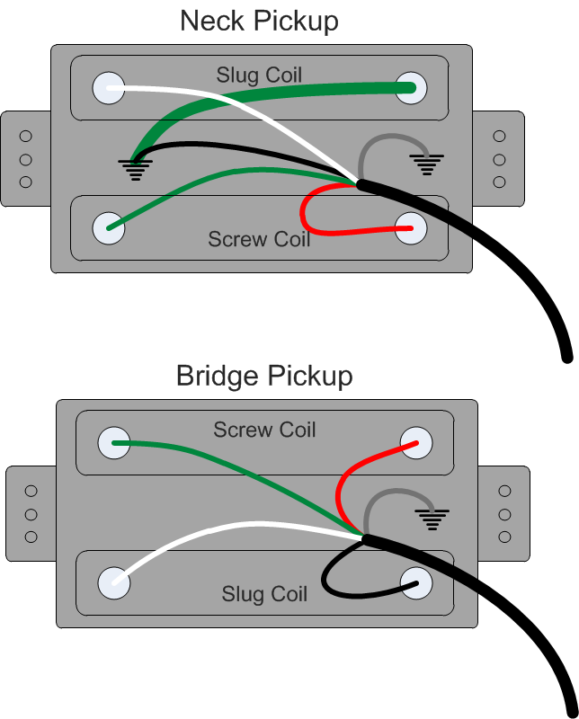 guild pickup wiring gad\u0027s ramblings Single Guitar Pickup Diagram