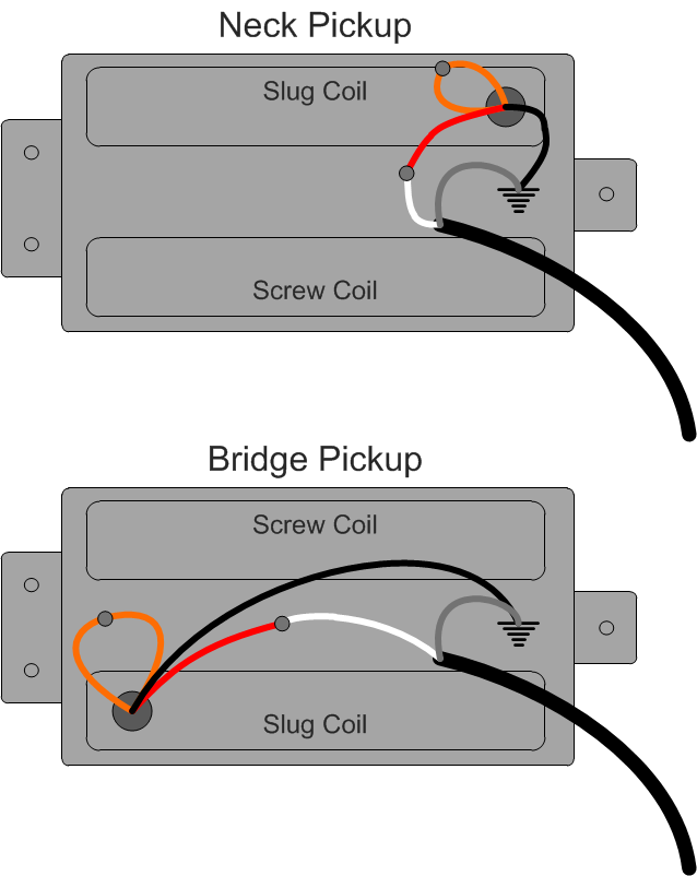 Guild Pickup Wiring