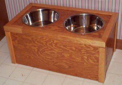 New Missionstyleish Dog Bowl Stands  Pets  Pinterest
