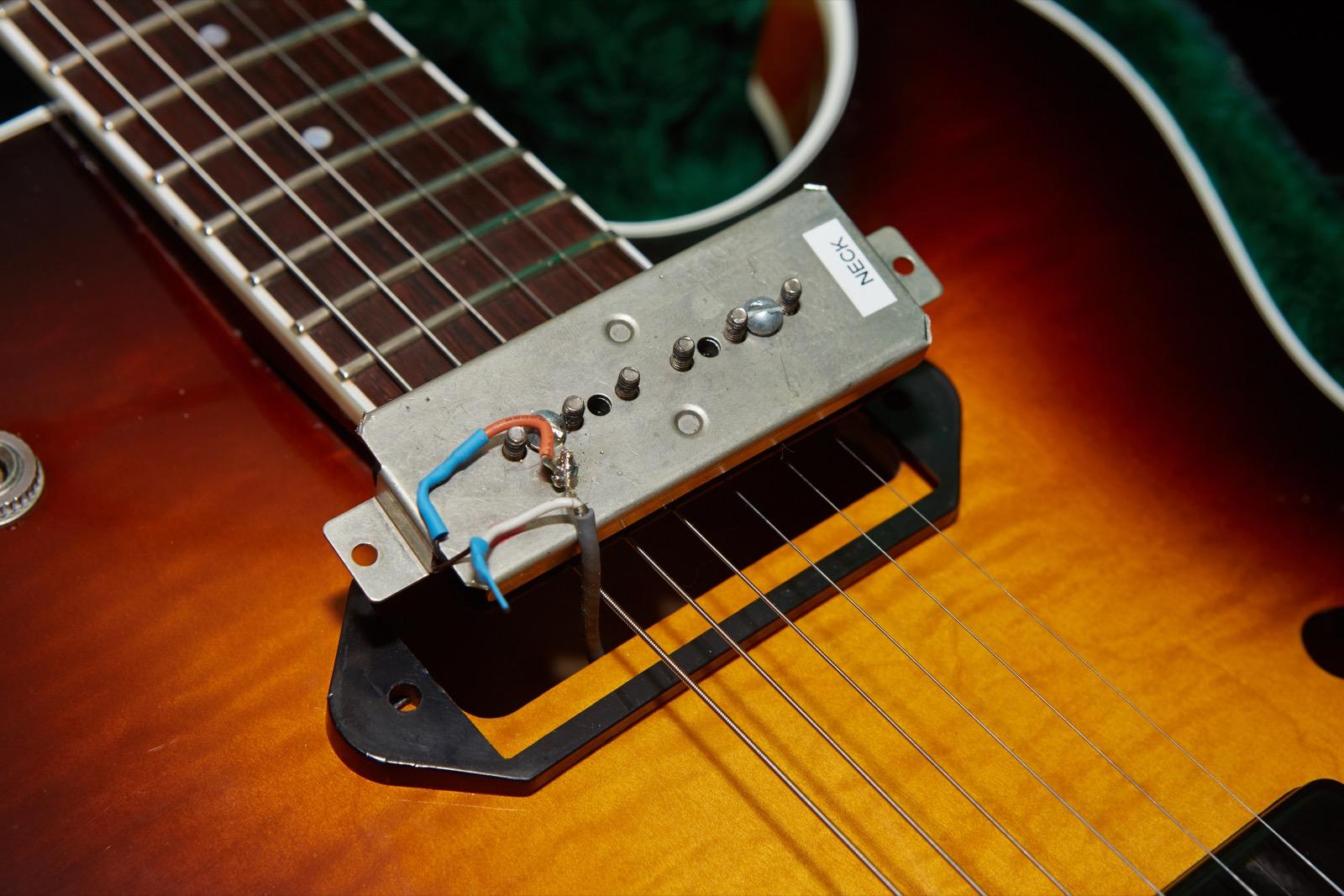 Guild Starfire Iii 90 Gads Ramblings 1961 Gibson P90 Pickups Original Electronics And Wiring Harness 2002 Neck Bottom