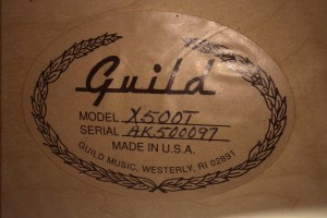 Guild-X500T-2001-Label