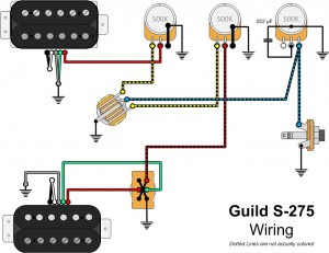 Guild S275 Wiring