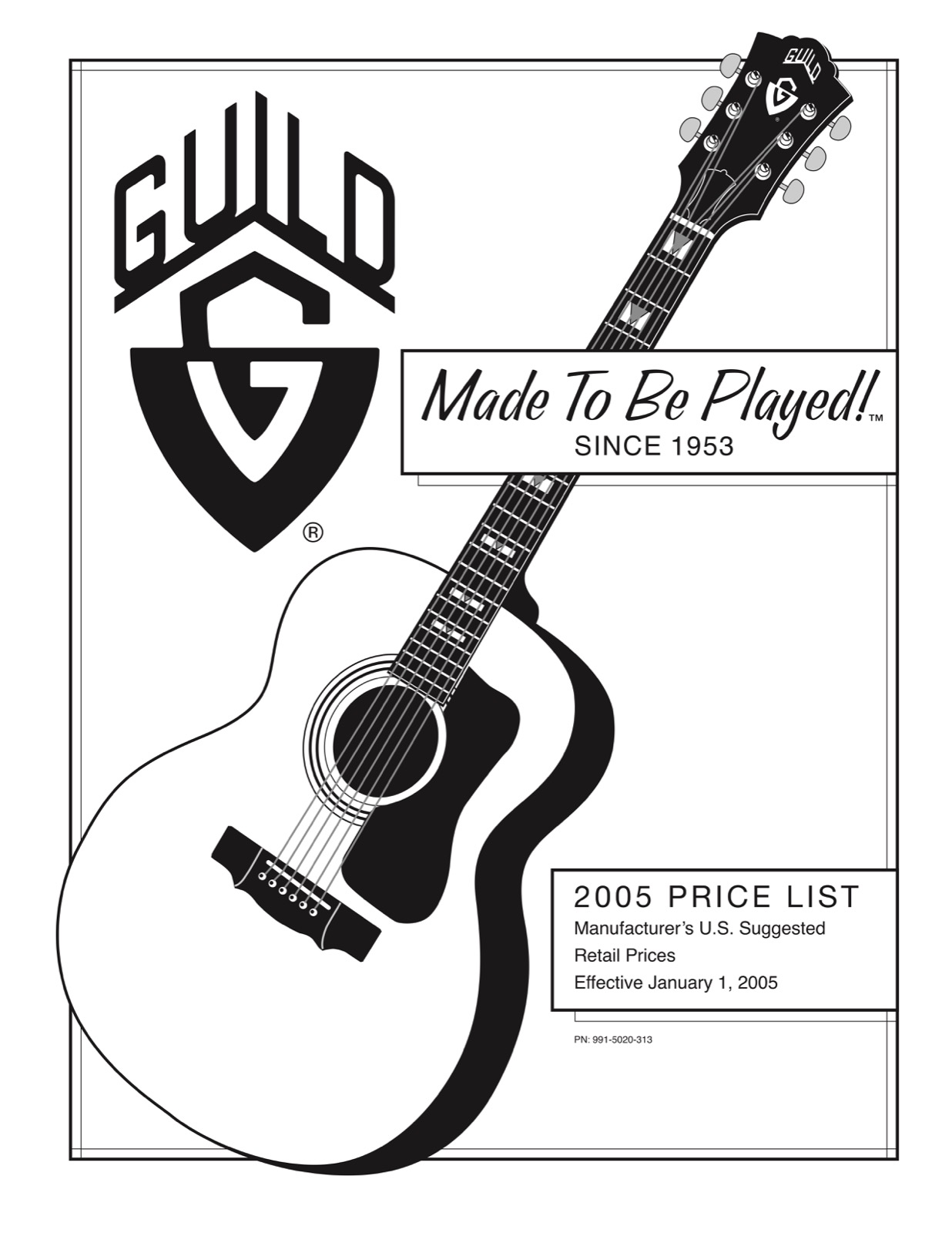 guild guitar price list 2005 january gad 39 s ramblings. Black Bedroom Furniture Sets. Home Design Ideas