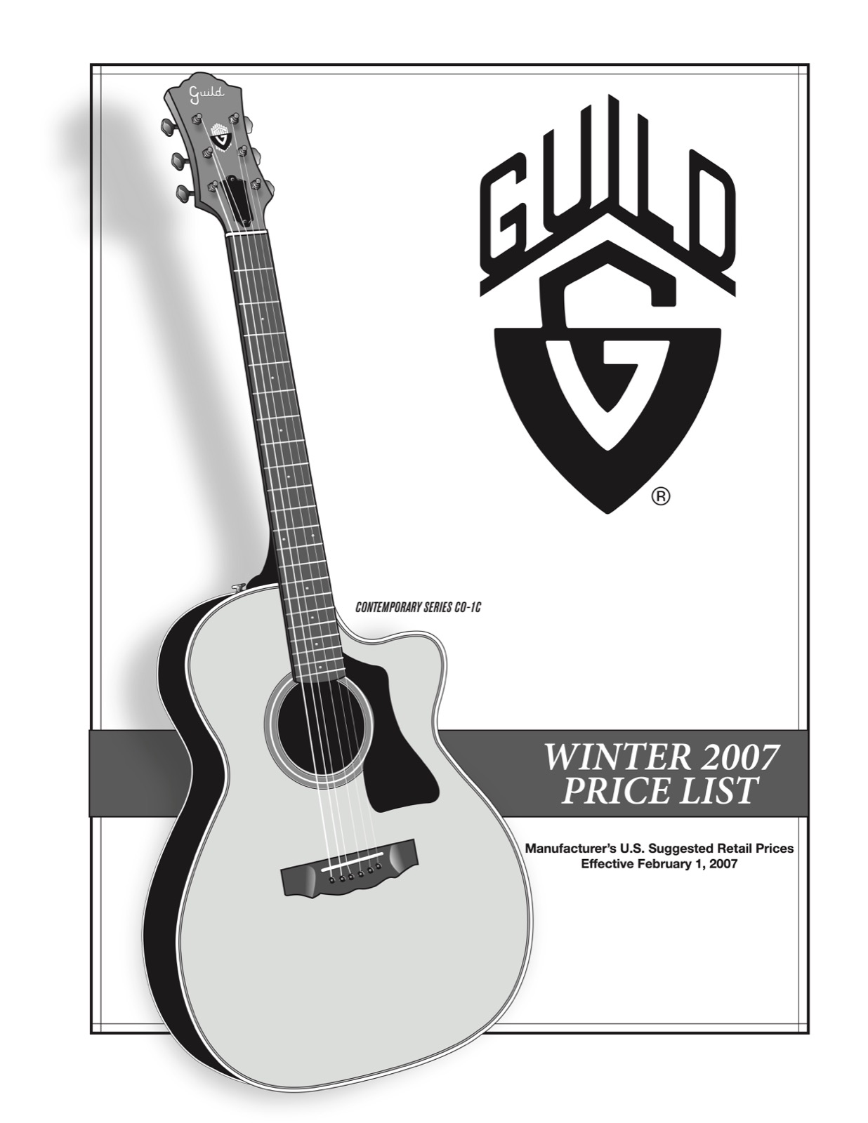guild guitar price list 2007 february gad 39 s ramblings. Black Bedroom Furniture Sets. Home Design Ideas