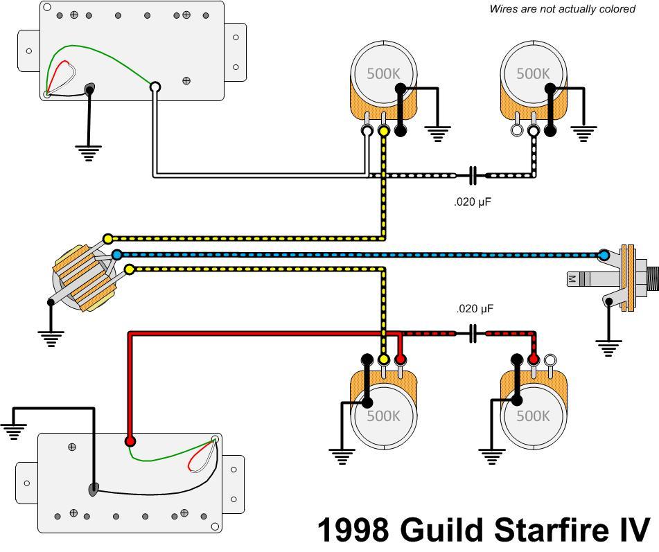 guild 1998 starfire4 wiring gad s ramblings rh gad net HSH Guitar Wiring Diagrams HSH Guitar Wiring Diagrams