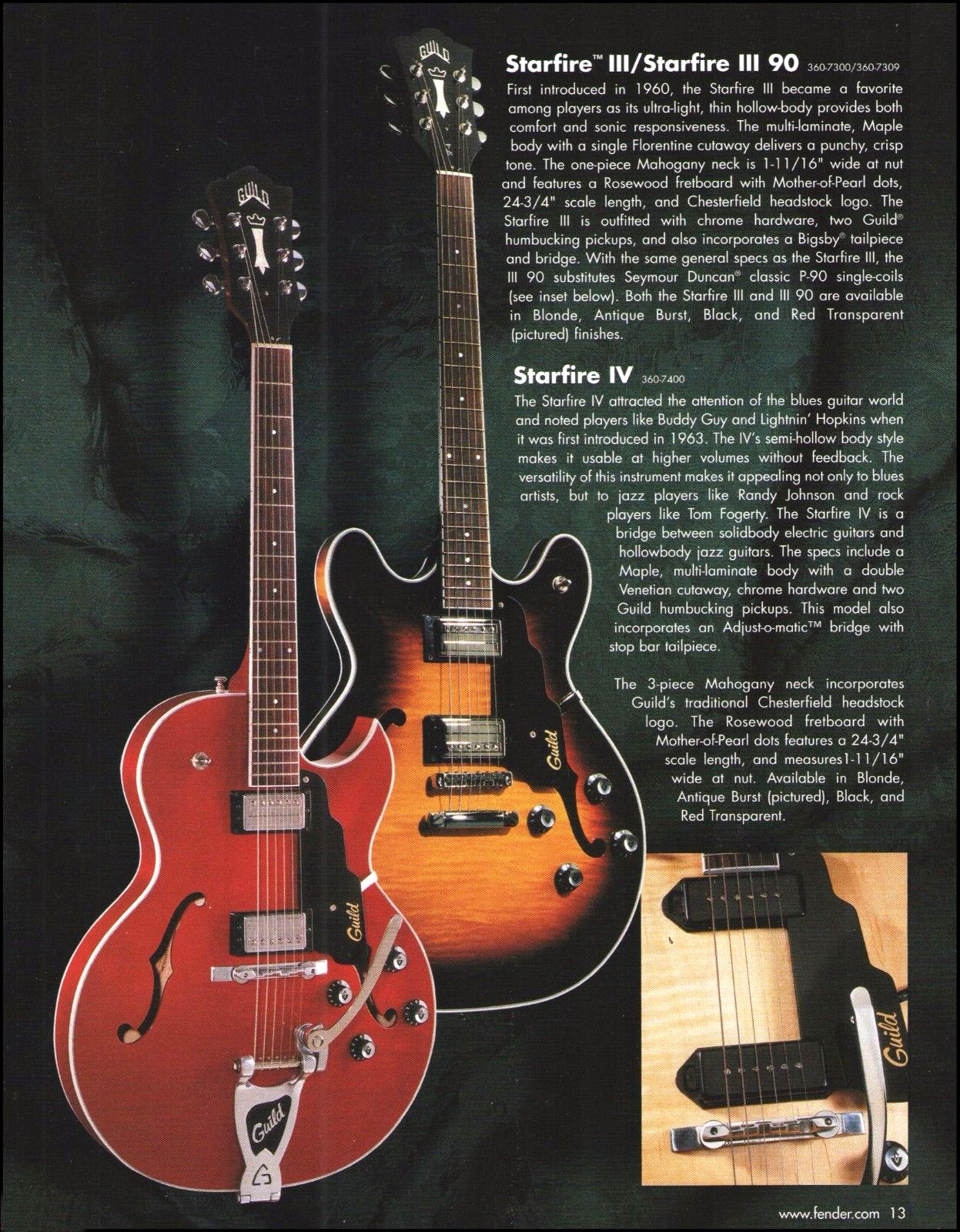1998 Guild Starfire IV | GAD\'s Ramblings