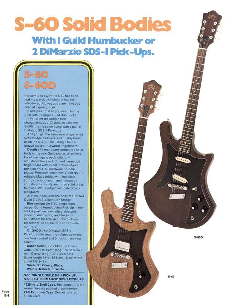 1977 Guild S-60 | GAD\'s Ramblings