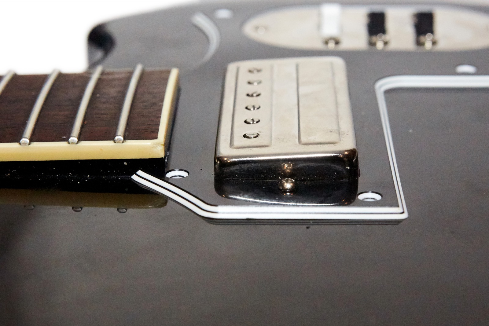 Oh I Almost Forgot That Both Of The Pickups Were Tilted In Wrong Direction Neck Pickup Shown Was Towards And Bridge