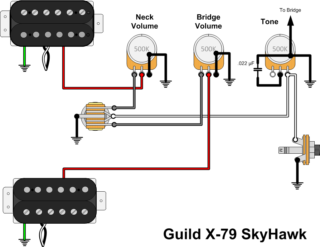 the pickups are decoupled which means that the middle position will allow  one of the pickups to be dialed down to zero without muting the guitar