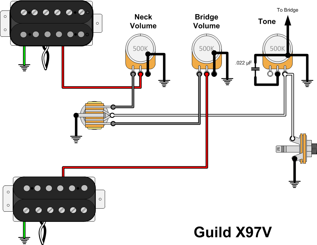 Guild X97v Prototype Gads Ramblings This Is Just Cool Diagram I Found On The Net Stratocaster Has A Was Delighted To Discover That Electronics Are Exactly Same As 1982 X79 Have Excited Me Because It Meant Didnt