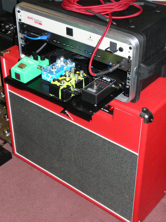 Stompboxes Into Rack Shelf Sliding Shelf The Gear Page